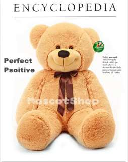 New Light brown soft plush teddy bear birthday great Christmas gift 63