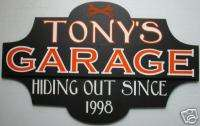 custom personalized Garage sign Biker Harley bar tavern
