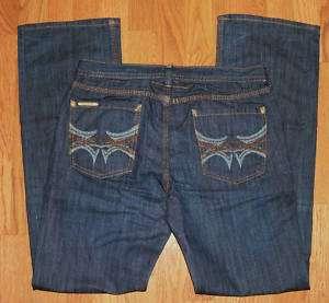 Jordache Horse Head Tatu Low Bootcut Dark Blue Jeans