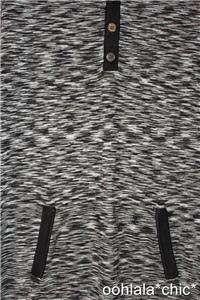 MISSONI FOR TARGET Womens Famiglia Black & White Polo Sweater Shirt