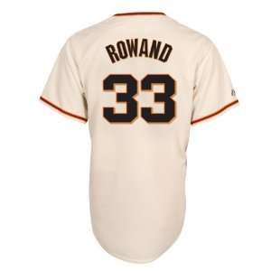 MLB Aaron Rowand San Francisco Giants Replica Home Jersey