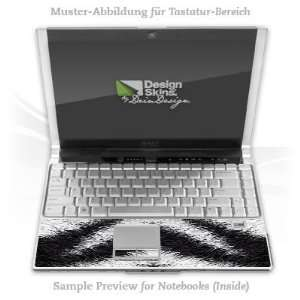 Design Skins for Apple MacBook Pro 17 Tastatur   Zebra