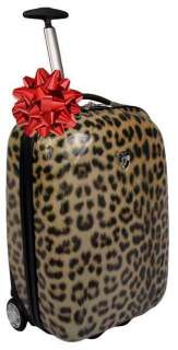 Heys USA Exotic XCASE 20 Carry On Luggage Case LEOPARD 806126000074