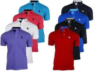 EON Clothing   Mens Lambretta Pique Polo T Shirt Twin Tipped Mod Retro