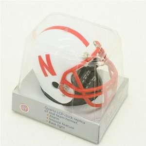 of Nebraska Cornhuskers Football Helmet Alarm Clock Electronics