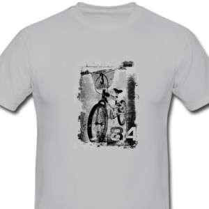 Raleigh Burner BMX T Shirt, Retro tshirt Old School