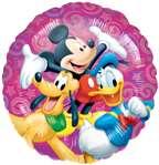 MICKEY Mouse Donald DUCK Pluto (1) 18 Mylar Balloon