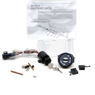 MERCURY 87 88107A13 OUTBOARD BOAT IGNITION KEY SWITCH