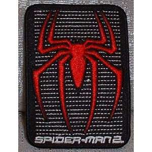 AMAZING SPIDER MAN Marvel Comics Spider Bars Logo PATCH