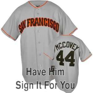 Willie McCovey San Francisco Giants Personalized