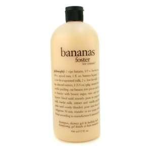 Foster Ice Cream Shampoo Shower Gel & Bubble Bath 946ml/32oz Beauty