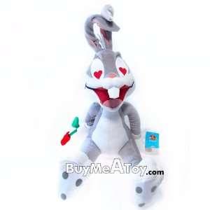 I Love you Bugs Bunny Plush doll   Holding Rose Kids Plush