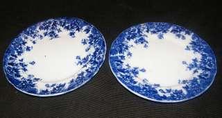 ANTIQUE RUDYARD FLOW BLUE 6 3/4 BREAD DESSERT PLATE