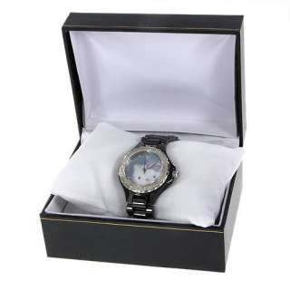 Hello Kitty QWL1199DIANO BLK Swiss Movement Water Resistant Ladies
