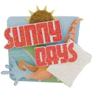 Lil Stacks 3 D Sticker Sunny Days Electronics