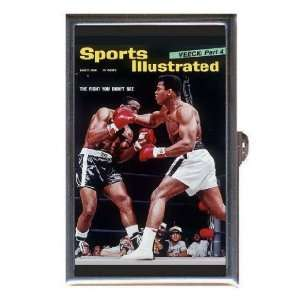 Muhammad Ali Sonny Liston 60s Boxing Coin, Mint or Pill