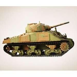 Vinyl Wall Decal Sticker Military Tank JH124m 24x48