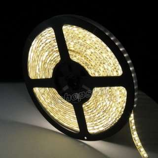 5M 3528 SMD 600 LEDs Waterproof Flexible Strip Lights 7 Colors CAR DIY