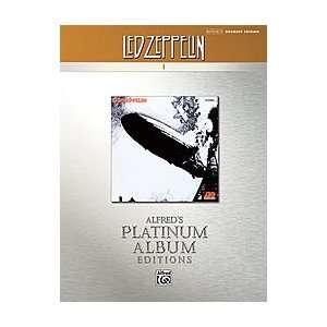 Led Zeppelin I Platinum Drums Book
