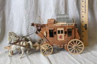 L194 VINTAGE 1955 ROY ROGERS FIX IT STAGECOACH BY IDEAL TOYS