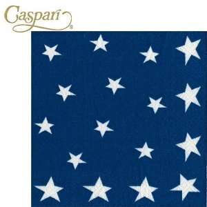Caspari Paper Napkins 7920C Stars and Stripes Cocktail