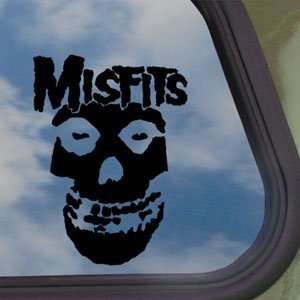 Misfits Black Decal Punk Rock Band Truck Window Sticker