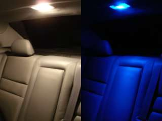 PAIR OF LED SMD CAR BRIGHT INTERIOR DOME PANEL LIGHTS
