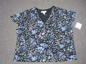Sag Harbor Carefree Knits Womens Top Size 3X NWT