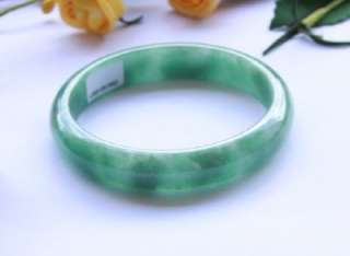 Natural A Grade Untreated Spinach Green Jadeite Jade Bangle $7000