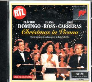 Diana Ross / Domingo / Carreras   Christmas in Vienna   CD 1993   Lalo