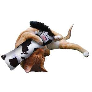 Kong Kickeroo Plush Cat Toy Infused w/ Catnip Giraffe