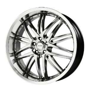 Verde Custom Wheels Kaos Hyper Silver Dark Wheel with Machined Finish