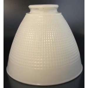 com Corning No. 820090 Milk Glass Waffle Lamp Shade Kitchen & Dining
