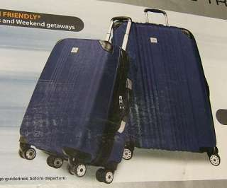 Ricardo Beverly Hills Easy Roll 2 Piece Travel Set  Blue New