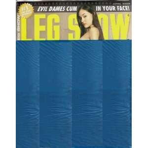 LEG SHOW APRIL 2008 SASHA GREY: LEG SHOW MAGAZINE: Books