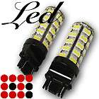 pair 68x smds yellow amber led rear turn signal lamp