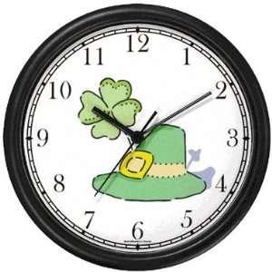 Leprechaun Hat with Four Leaf Clover or Shamrock Irish or