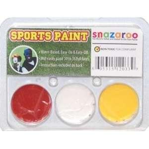 Snazaroo Chiefs Color Pack Face Makeup Paint Kit Toys