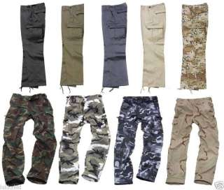 US MILITARY/ARMY M 89 COMBAT CARGO TROUSERS/PANTS