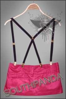 SL302 Punk Rock Sexy Lady Mini Belt Skirts Gothic