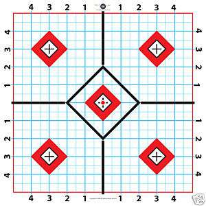 Paper Target Great for Sighting in Scope 11.5 inch 100 sheets