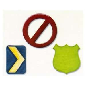 Sizzix Originals die Road Signs Large Arts, Crafts & Sewing