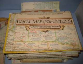 NATIONAL GEOGRAPHIC MAPS 77 VINTAGE MAP BOOK 1940S (11)
