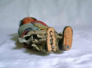 Composition Skookum Native American Indian Boy Girl Squaw Doll Figure