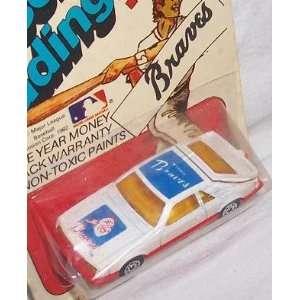 Atlanta Braves 1982 Corgi MLB Diecast 1/64 Scale Ford Mustang Baseball