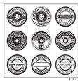 Maya Road Clear Stamps SPOOL SENTIMENTS STAMP SHEET New 2012