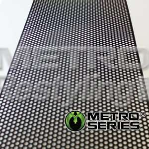 Universal Aluminum Perforated Mesh Grille Insert 48 x 12