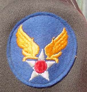 WWII VINTAGE US ARMY AIR FORCE OFFICER UNIFORM JACKET