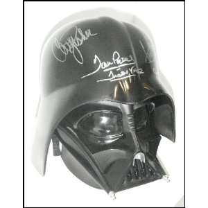 Star Wars Cast & Crew Autographed/Hand Signed Darth Vader