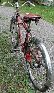 1954 SCHWINN CORVETTE 3 SPEED MENS BEACH CRUISER BIKE VINTAGE BICYCLE